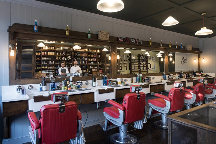 Sams Barbers By Terry Design Belfast Northern Ireland