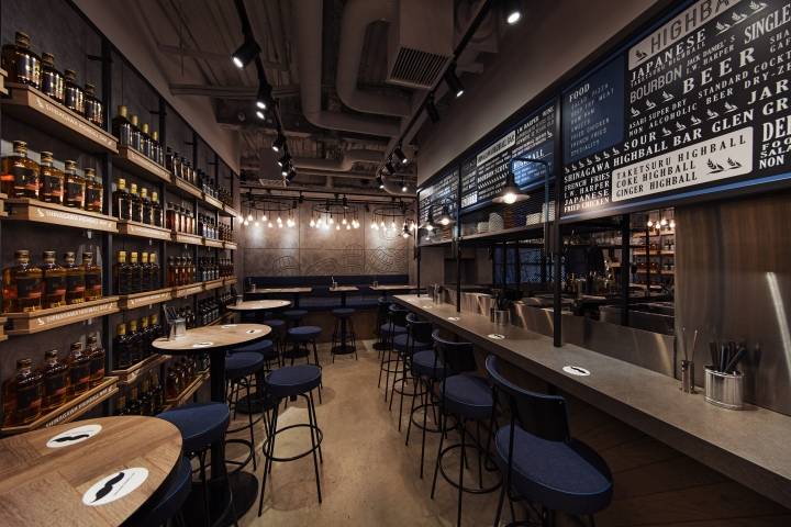 The Design Of The Highball Bar First Required A Number Of Observation Trips  To Highball Bars Around Tokyo. The Interiors, However, Were All Dark, ...