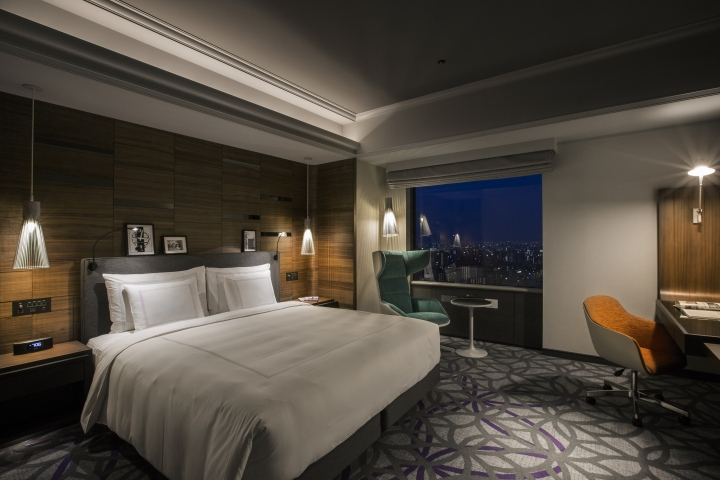 Swissotel nankai hotel by design studio crow osaka for Hotel design blog