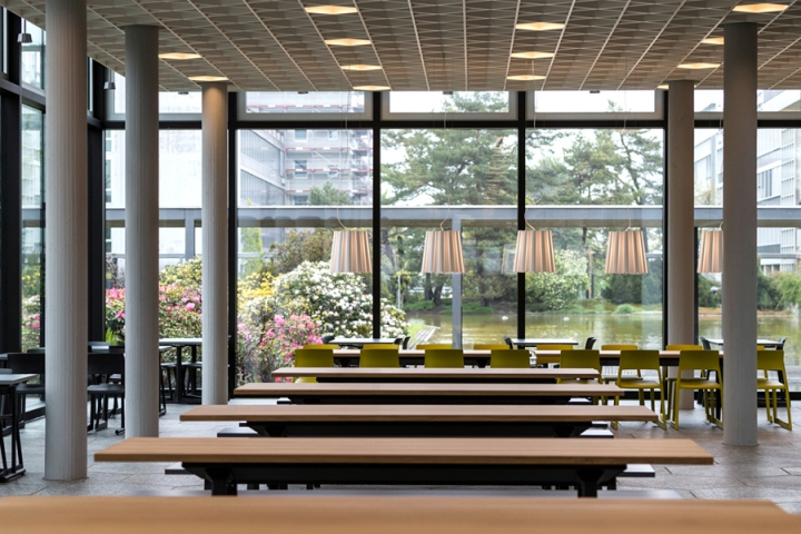 food market at the eth zurich by barmade interior design