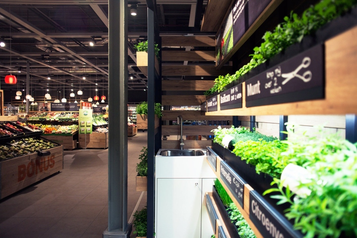 albert heijn xl help yourself herb garden by studiomfd amsterdam netherlands. Black Bedroom Furniture Sets. Home Design Ideas