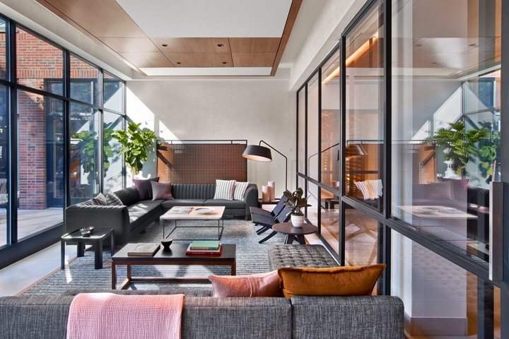 Arlo hudson square hotel by avroko new york city retail for New design hotels 2016