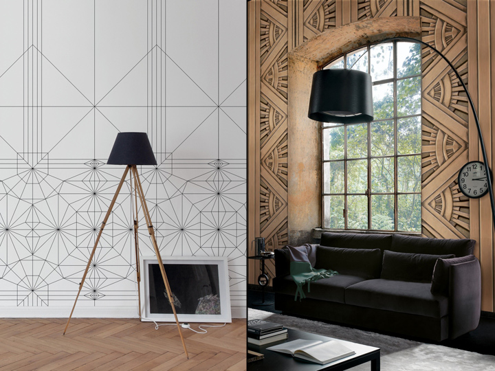 187 Art Deco Wallpapers By Texturae