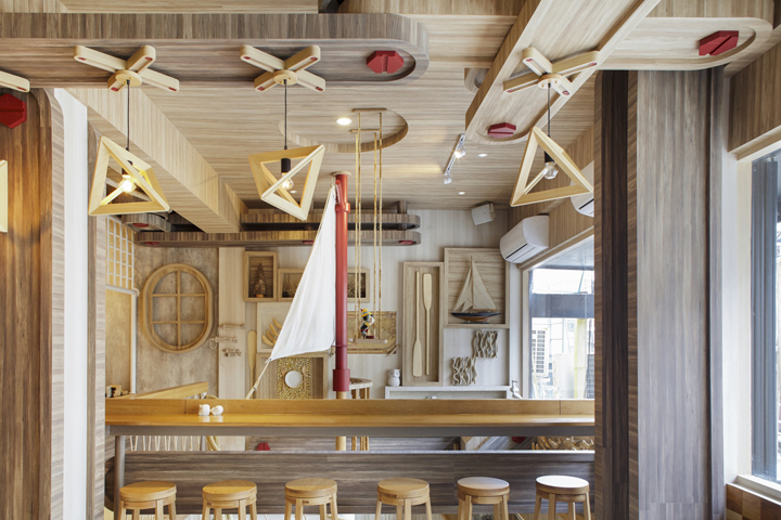 BORN WHALE seafood bar & grill by party/space/design, Bangkok – Thailand