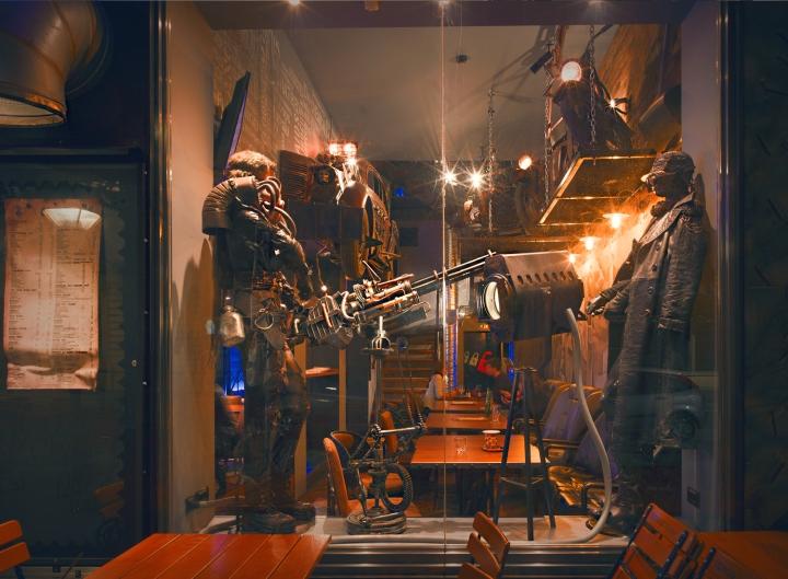 Bunker bar by the 6th sense interiors murska sobota - Interior leather bar free online ...