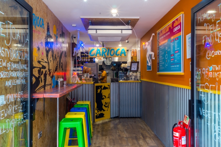 office offbeat interior design. Offbeat Creative Has Transformed The Interior Design To Replicate Elements Of Favela Through Reclaimed Materials, Including Corrugated Steel And OSB Office F