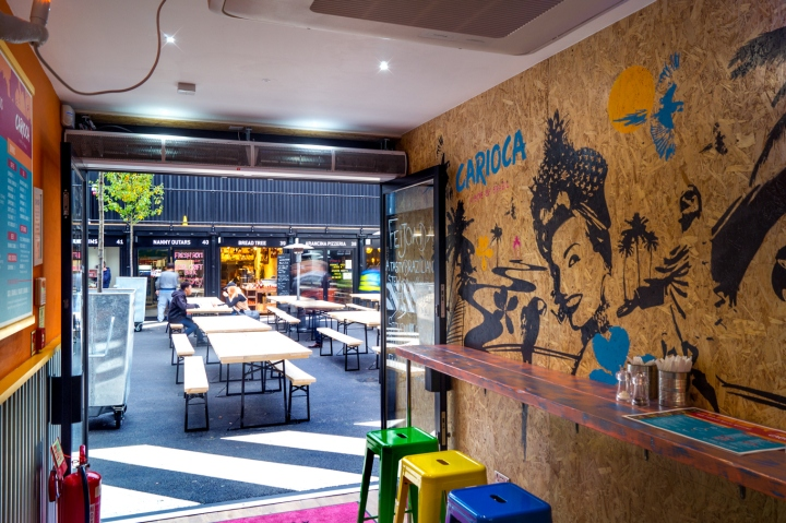office offbeat interior design. Offbeat Creative Has Transformed The Interior Design To Replicate Elements Of Favela Through Reclaimed Materials, Including Corrugated Steel And OSB Office E