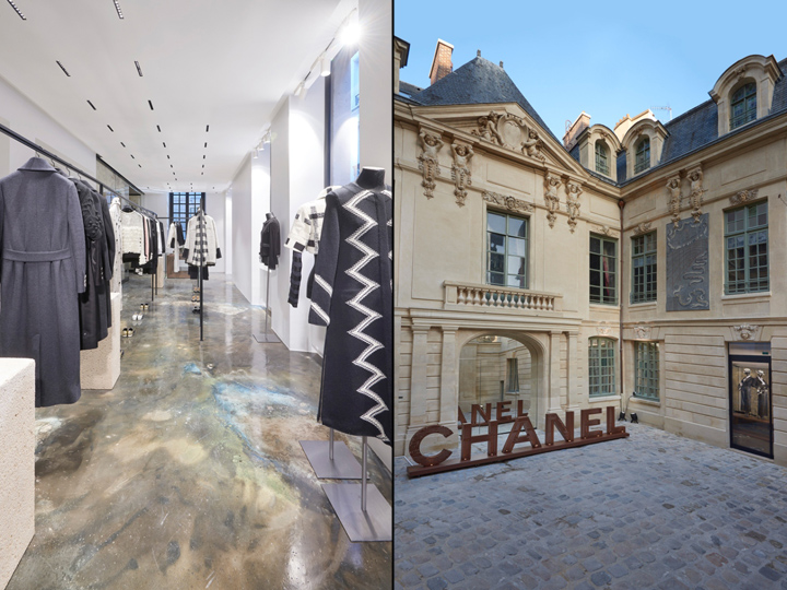d5877792e26c52 Pierced with a window, it's home to chanel's shoe collection. The two  pop-up stores will remain open through the end of May 2017