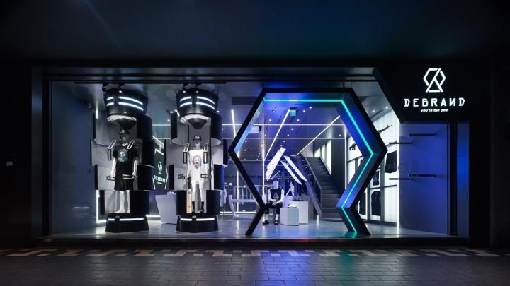 Debrand Store By Mw Design Taipei Taiwan 187 Retail Design