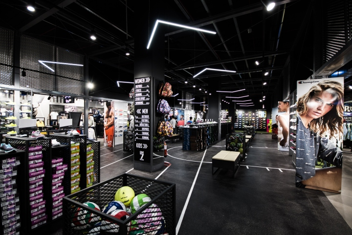 187 Game 7 Athletics Flagship Store By D D Group Milan Italy