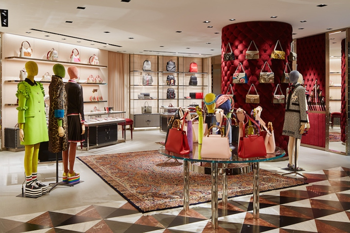 Gucci store by Alessandro Michele, Tokyo – Japan