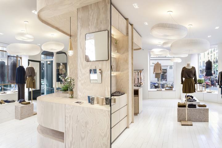 marie sixtine le marais flagship store by atelier. Black Bedroom Furniture Sets. Home Design Ideas