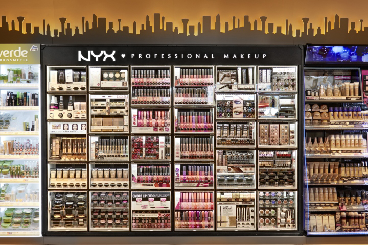 187 Nyx Cosmetic Bar By Arno Europe Wide Concept