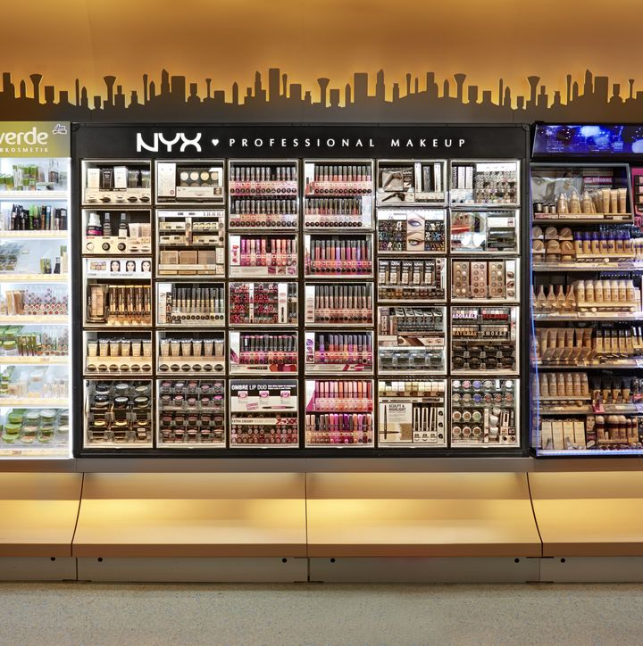 » NYX cosmetic bar by ARNO, Europe wide concept