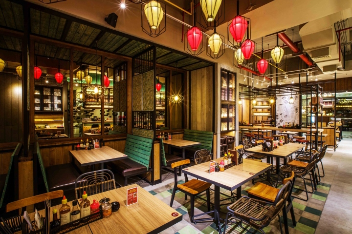 NamNam Noodle Bar by Metaphor Interior Architecture, Jakarta – Indonesia