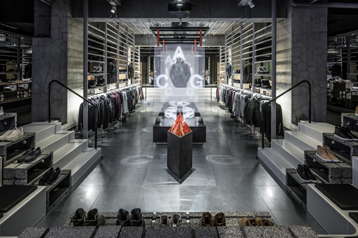campo Desgastar Excéntrico  Nikelab Ma5 store by Nike and Arthur Huang, Tokyo – Japan