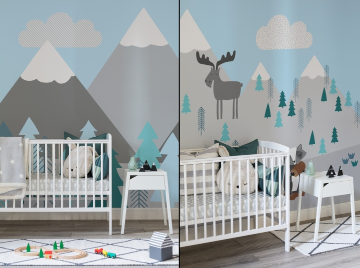 187 Nursery Wallpaper By Murals Wallpaper