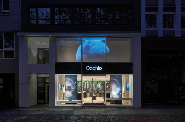 德国科隆occhio灯具展示设计图片