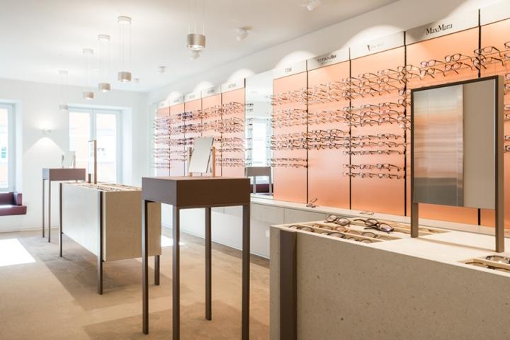 Optician Affolter Store By Barmade Willisau Switzerland