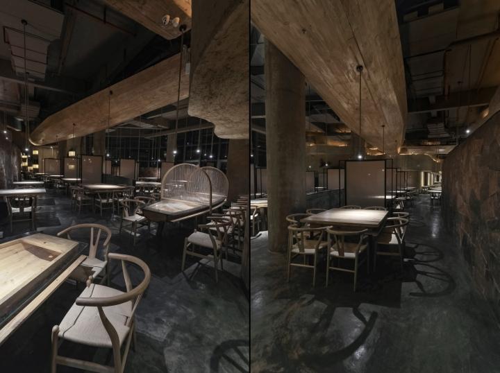 Pu zao restaurant by yiduan shanghai interior design for Interior design agency shanghai