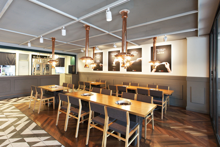 Semegae restaurant by clover space design csd seoul