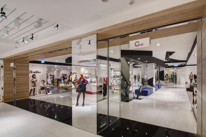 Shopping Mall Remodel By Taipei Base Design Center TBDC Taichung City Taiwan