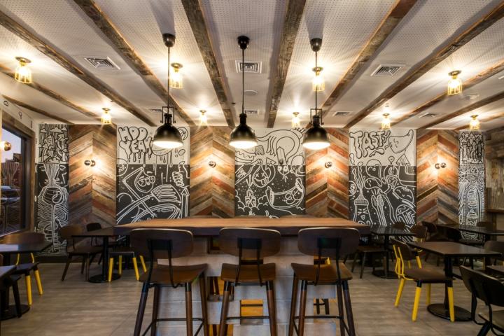 187 Upside Craft Restaurant By Input Creative Studio New York Usa