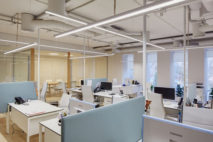 clear office. Brilliant Office A Company Specialising In Security And CCTV Gets Clean Clear Office  Space Which Provides Transparency Communication Openness To Employees  With Clear Office