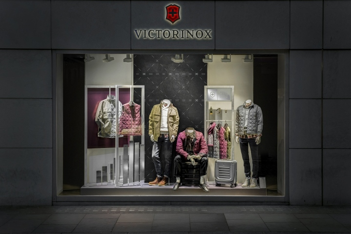 187 Victorinox Watches 2016 Window Display By Dfrost