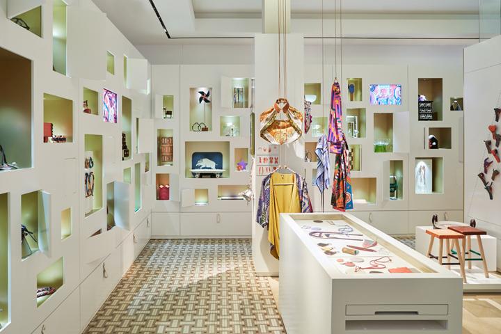 纽约hermès装饰品专卖店设计