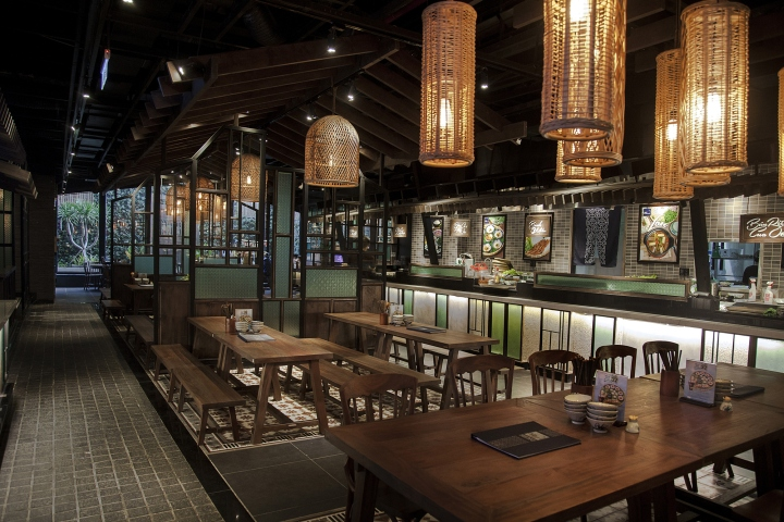 37th Street at Asian Corner restaurant by TD solutions Ho Chi Minh