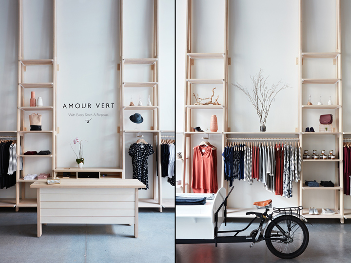 Amour Vert Store By Bcv Architects Palo Alto California