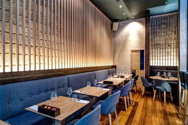 Anzu Restaurant By Blenheim Design London England