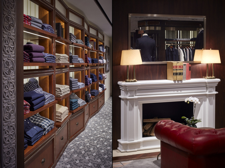 Interior Design Studio: Stefano Tordiglione Design Ltd Name Of Client: Brooks  Brothers Group Inc Chief Designer: Stefano Tordiglione Photo: Chester Ong