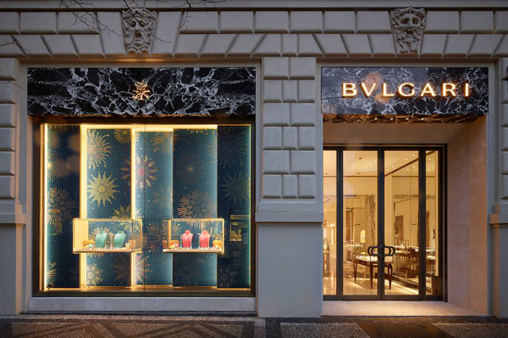 Bvlgari boutique prague czech republic for Design boutique hotel prag