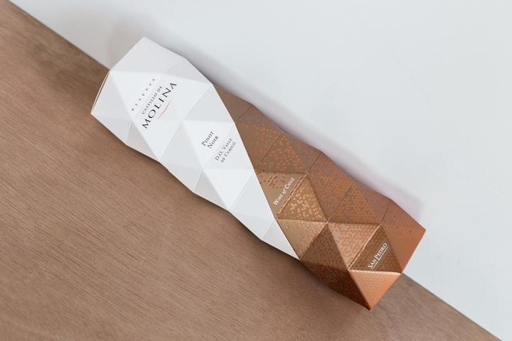 Castillo De Molina Wine Origami Packaging By Non
