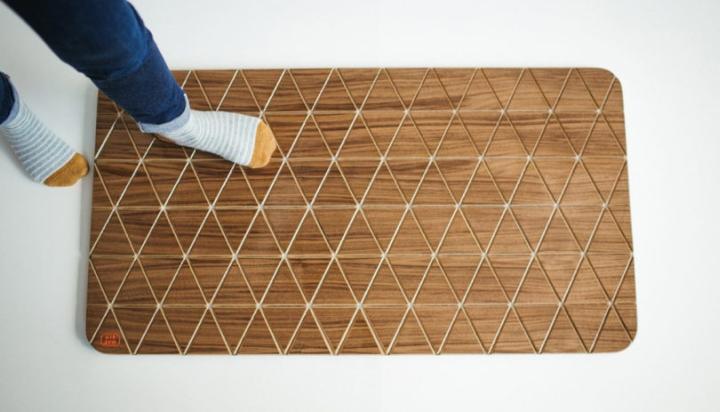 Flexible Wood Floor Mats By Sitskie Design Studio 187 Retail
