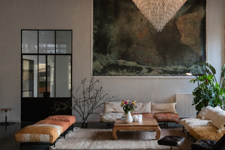 The pioneering Antwerp design office, Going East, founded by designers  Anas Torfs and Michiel Mertens, turned the creative hub into a  professional interior ...