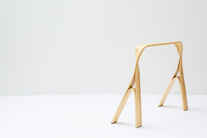 187 Furniture Made Of Steam Bent And Twisted Wood By Bar Gantz