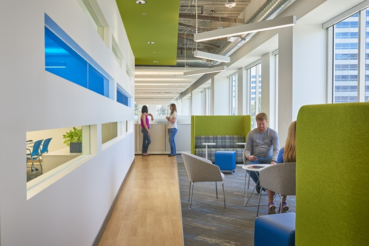 Health Plan San Mateo office by AP+I Design, San Francisco – California