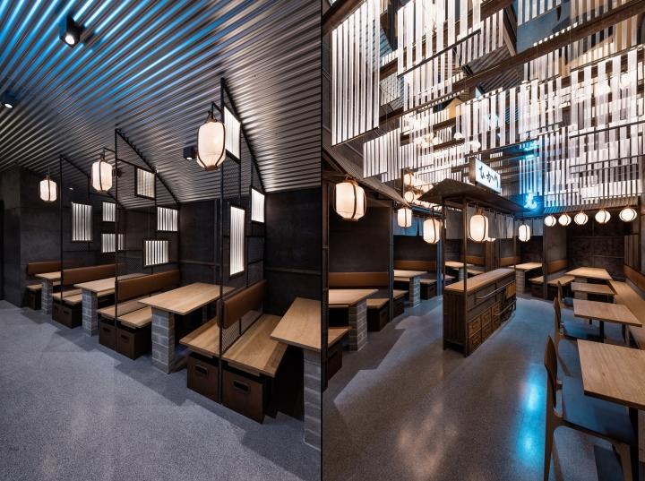 Yakitori Restaurant Design : Hikari yakitori bar by masquespacio valencia spain
