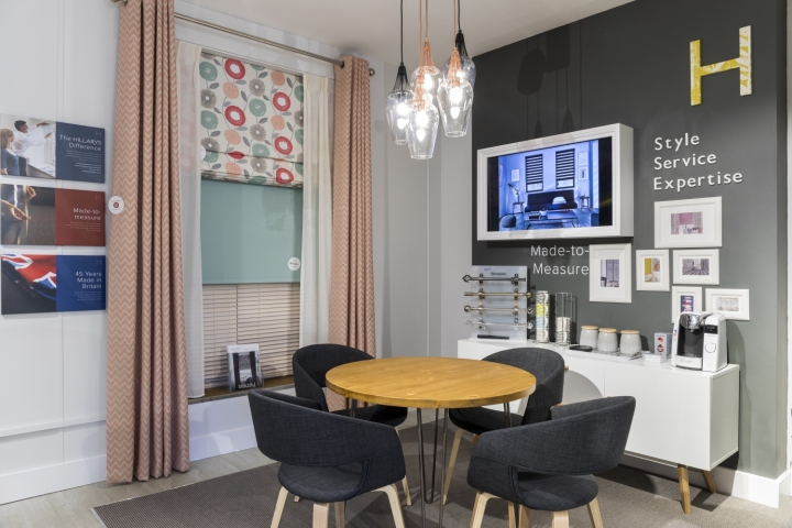 Hillarys Showroom By Mynt Design Bristol UK