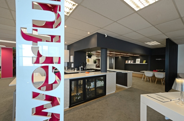 Insight creative offices by yellow 6 design auckland for Office design new zealand