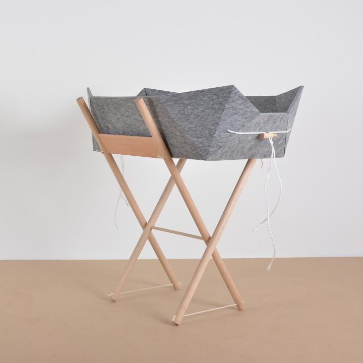 Dezeen 2017 01 27 German Students Angewandte Kunst Schneeberg Design Felt Furniture Shelves Chairs