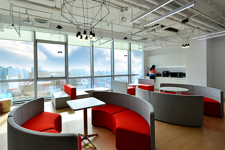 office meeting room design. The Outline Of Two Orange Glass Meeting Rooms Attached On Left Side Reception Area Looks Like Chinese Characters, So That Logo And Office Room Design