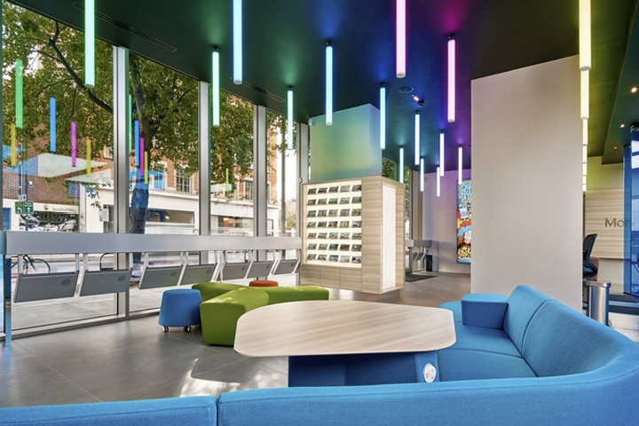 MEC Creative Has Designed The New Offices Of Real Estate Agency Morgan Randall Located In London England Have Been Established Canary