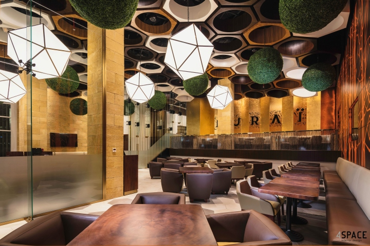 Nurai restaurant by space dubai uae retail design
