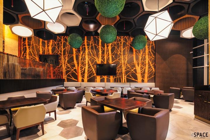 Nurai Restaurant By 4SPACE Dubai UAE