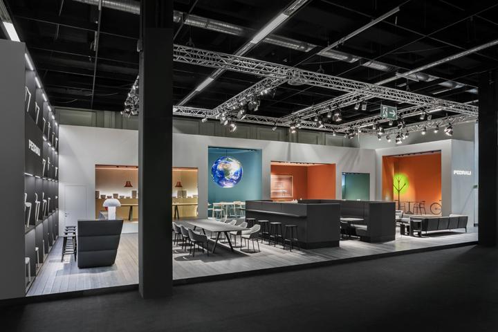 Exhibition Stand 2017 : Pedrali stand by calvi brambilla at imm cologne