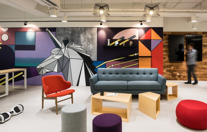 Publicis Media Group offices by Spatial Concept Limited Hong Kong